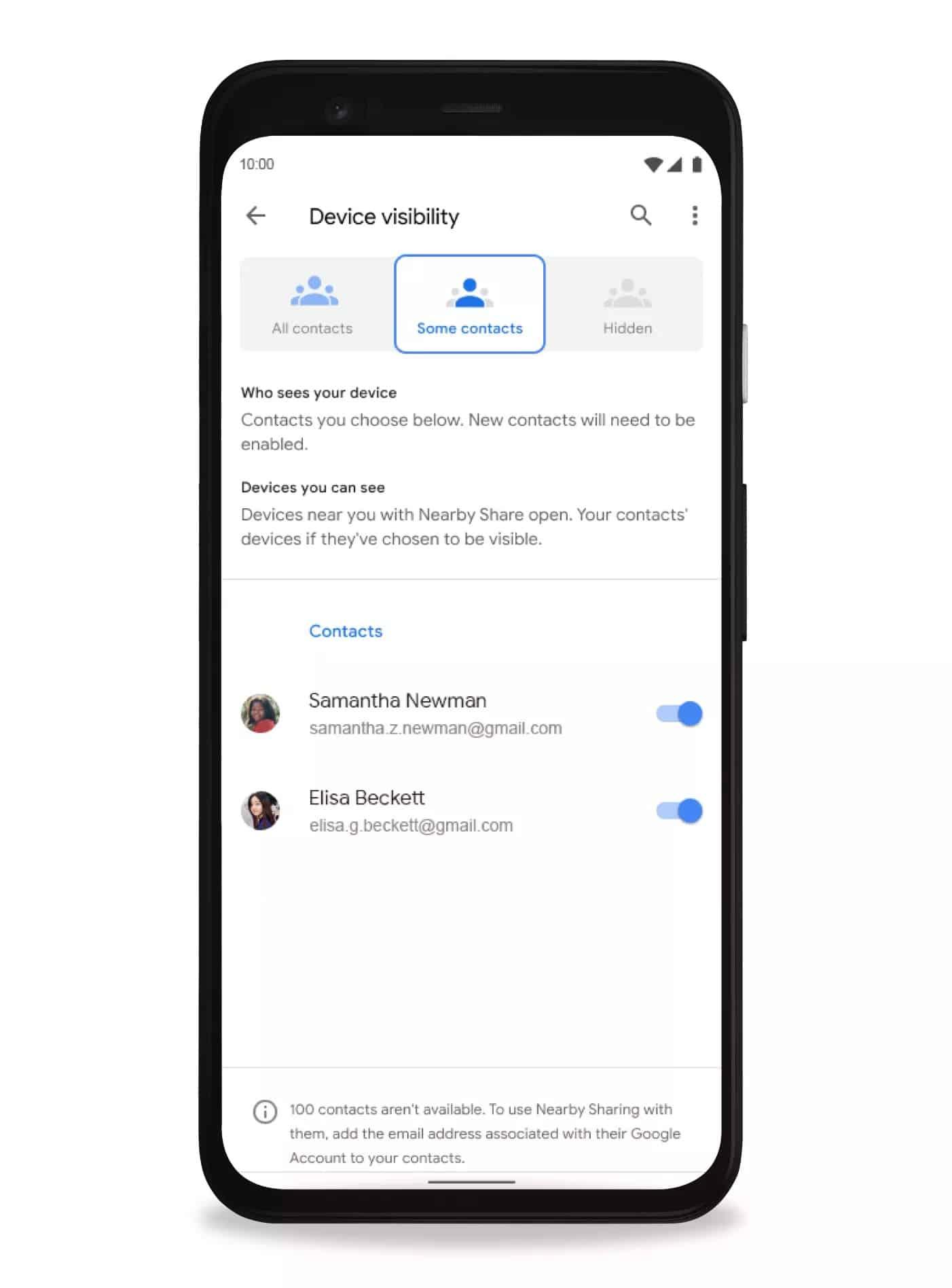 Android'in AirDrop'a rakibi Pixel ve Samsung telefonlarında