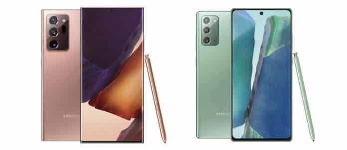 Galaxy Note 20 serisi MediaMarkt'ta ön siparişe açıldı