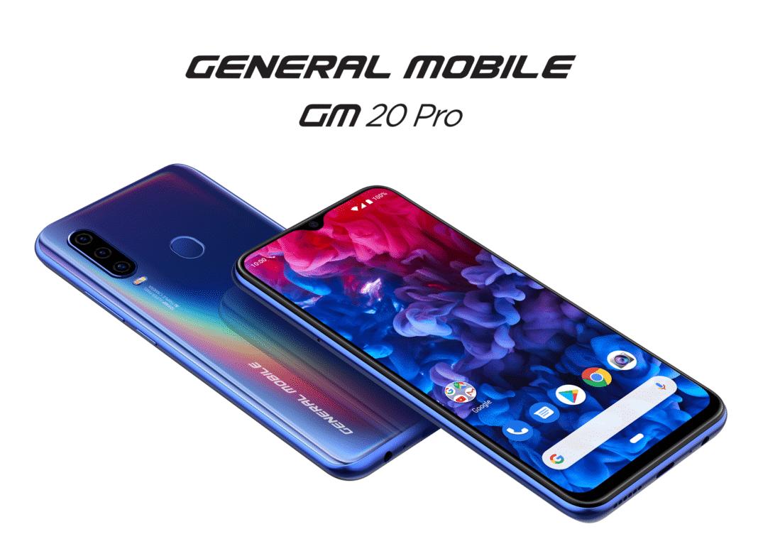 General Mobile GM 20 ve GM 20 Pro Android telefonları tanıtıldı