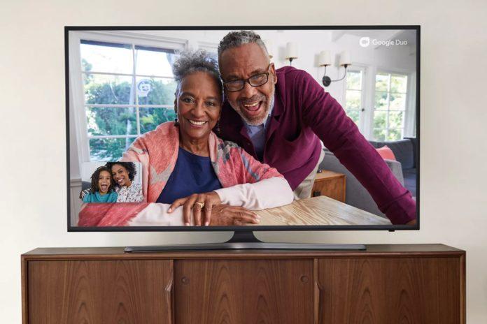 Google Duo Android TV'lere geliyor