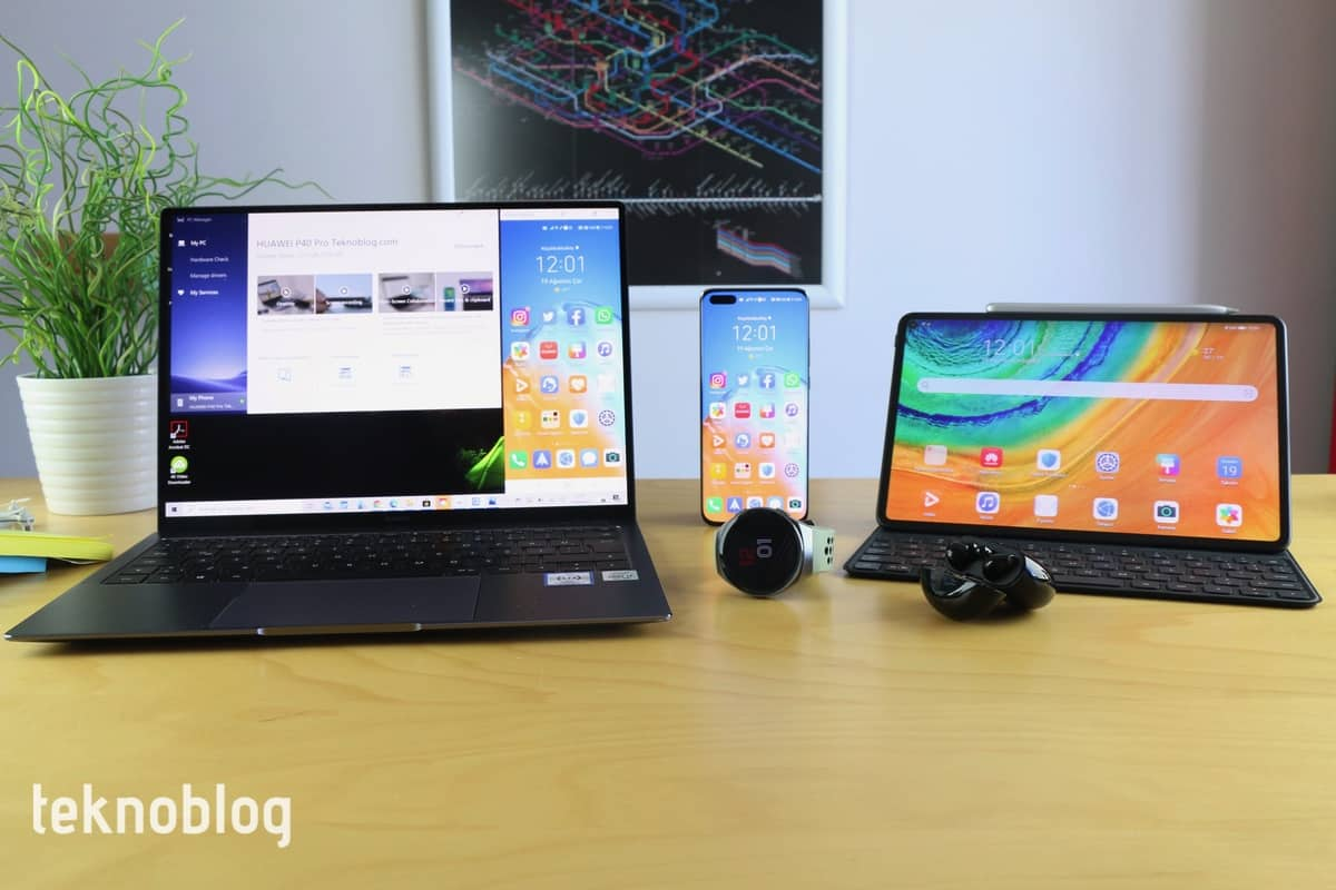 Huawei ekosistemi ile hayatı kolaylaştıran cihazlar ve uygulamalar bir arada