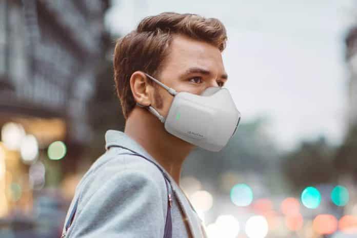 LG pille çalışan ve maske gibi kullanılan taşınabilir hava temizleyicisini tanıttı