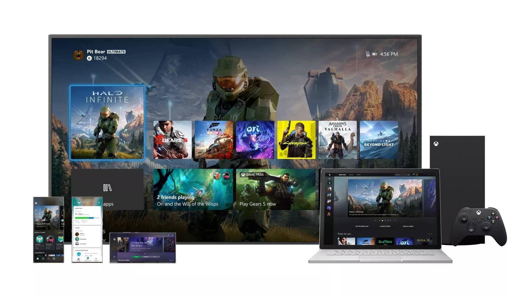 Microsoft Xbox Series X kontrol paneli değişikliklerini paylaştı [Video]