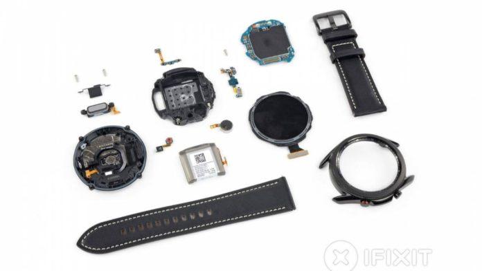 Samsung Galaxy Watch 3 parçalarına ayrıldı, tamiri çok zor değil
