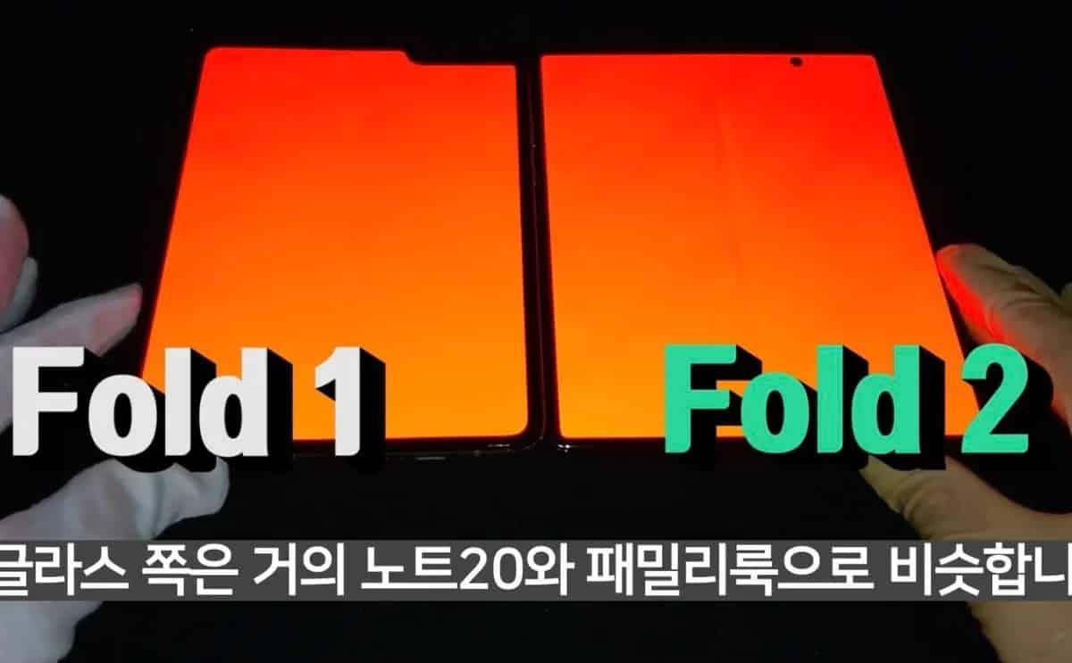Samsung Galaxy Z Fold 2 ile Galaxy Fold arasındaki farkları gösteren yeni fotoğraflar