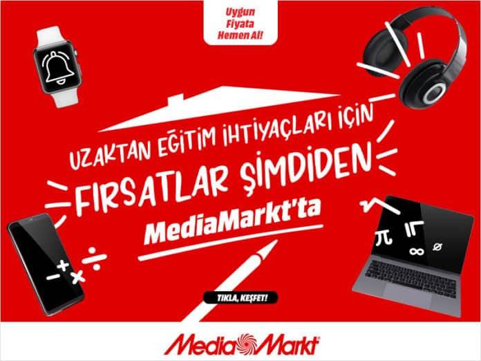 Uzaktan eğitim ihtiyaçları için fırsatlar şimdiden MediaMarkt?ta