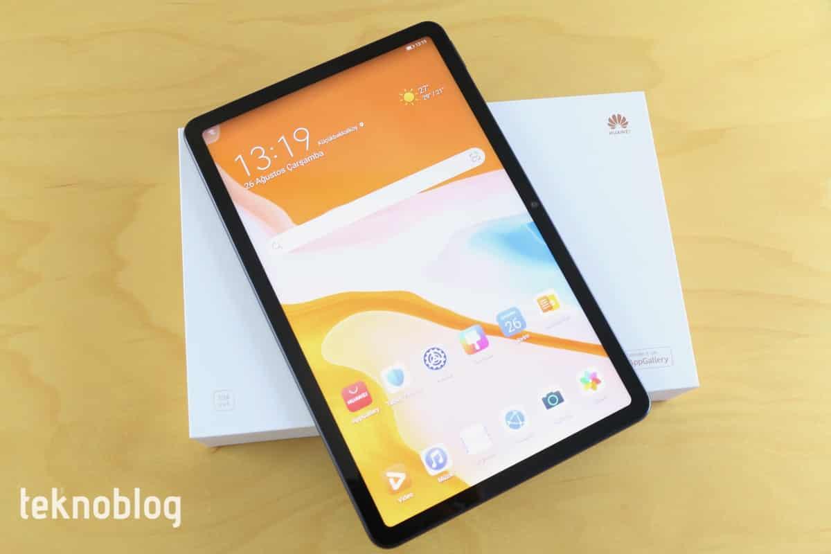 Video: Huawei MatePad 10.4 Kutusundan Çıkıyor