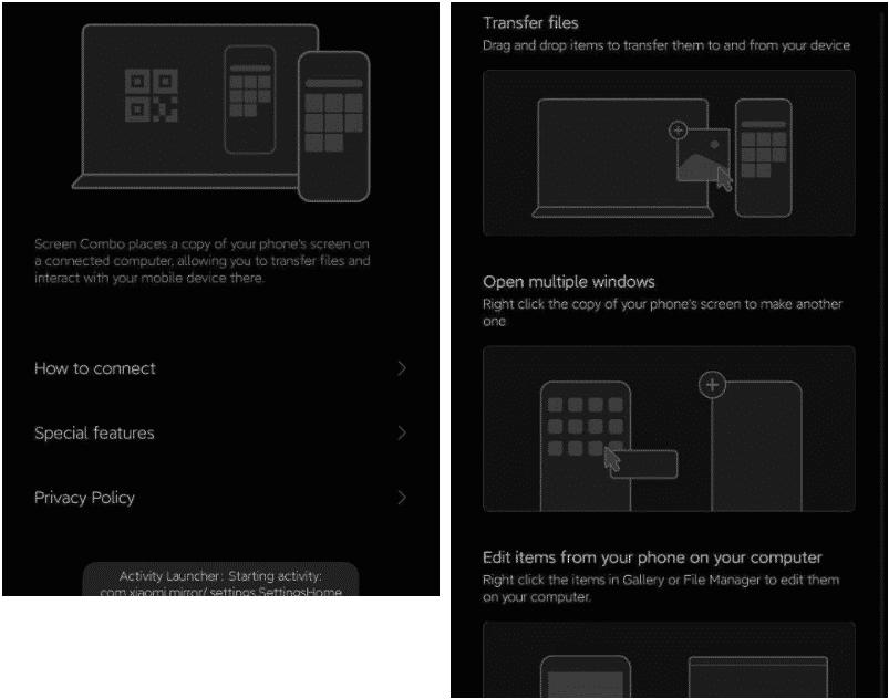 Xiaomi'den PC ve akıllı telefon arasında köprü kuran uygulama geliyor