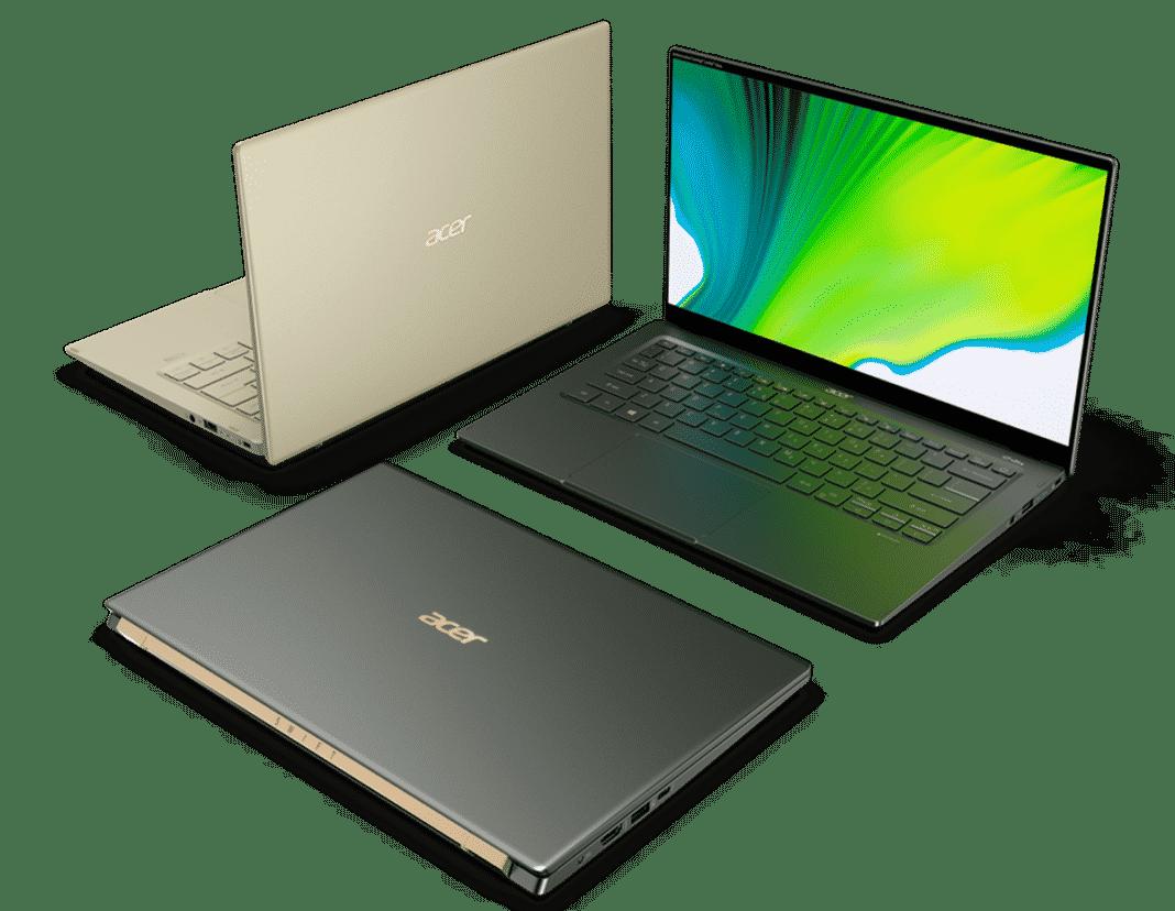Acer'ın yeni Swift dizüstü bilgisayarlarında 11. Nesil Intel işlemciler var