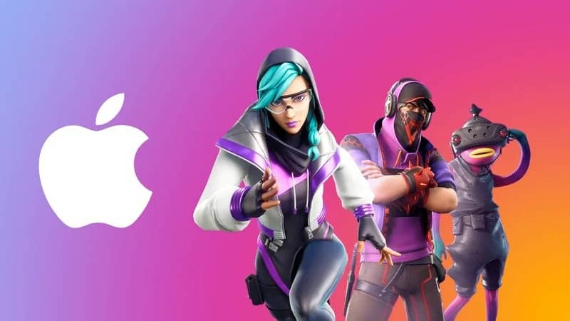 apple fortnite epic games