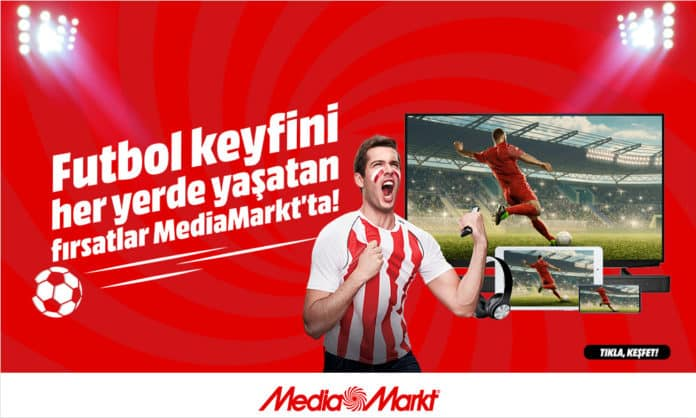 Futbol keyfini her yerde yaşatan fırsatlar MediaMarkt'ta
