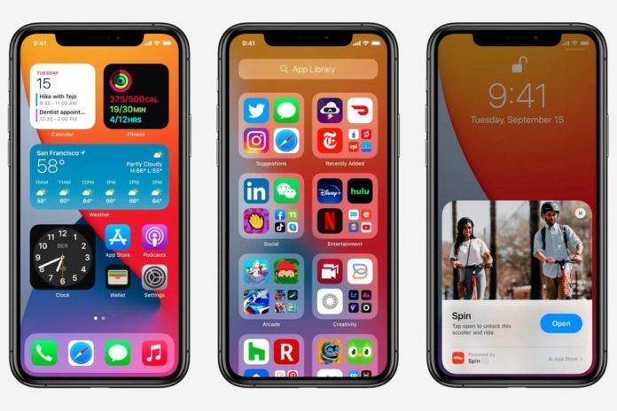 iOS 14, iPadOS 14, watchOS 7 ve tvOS 14 yayınlandı, indirin