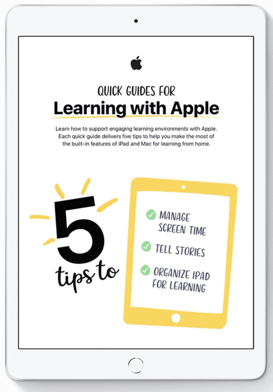 iPad ile okula dönüş: Daha verimli bir eğitim-öğretim dönemi için araçlar