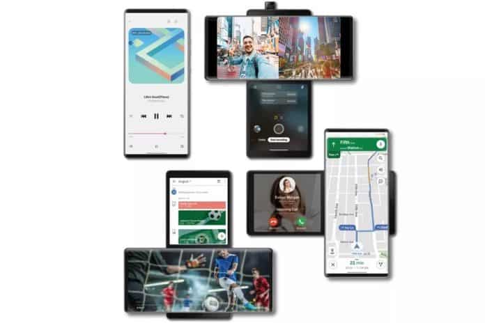 lg wing android 12