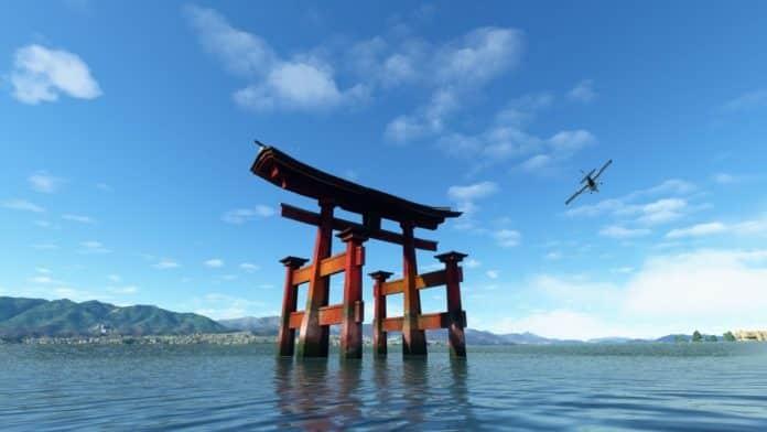 Microsoft Flight Simulator için Japonya temalı güncelleme