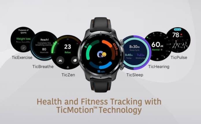 mobvoi ticwatch 3 pro gps