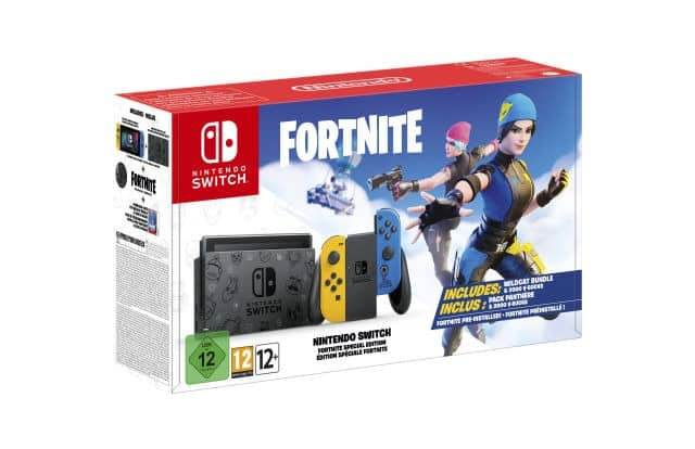 nintendo switch fortnite