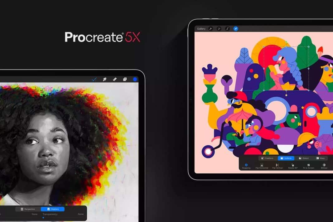 procreate 5x