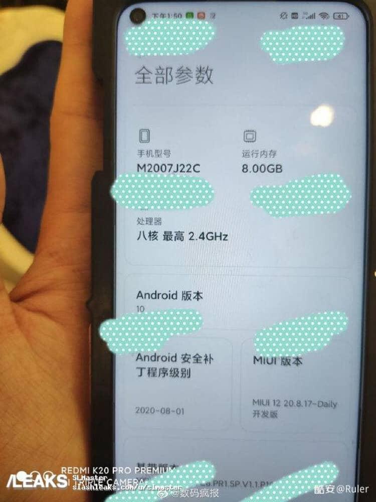 Redmi Note 10 için Snapdragon 765G iddiası ve yeni fotoğraflar