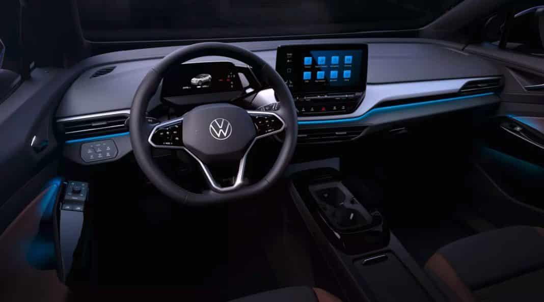 Volkswagen elektrikli SUV ID 4'ün iç tasarımının fotoğraflarını paylaştı [Galeri]