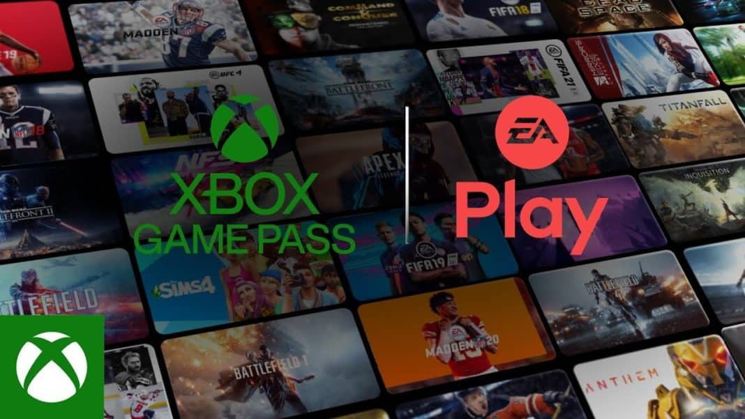 xbox game pass ea play