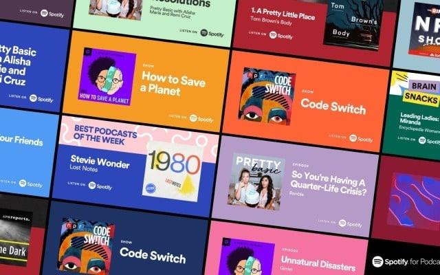 spotify tanıtım kartları