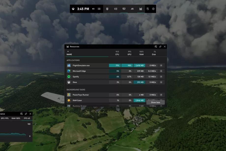 xbox game bar