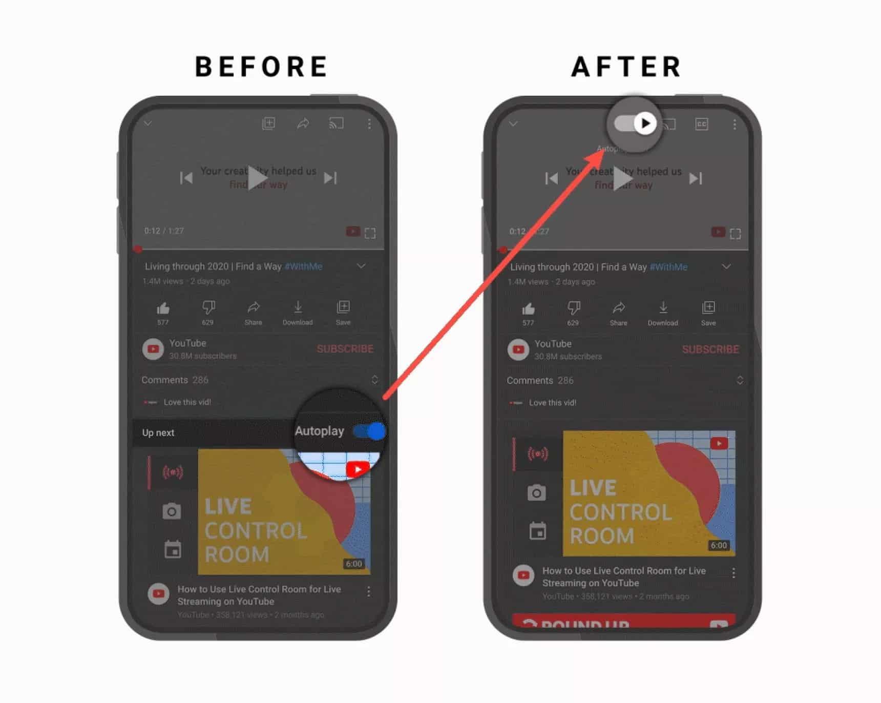 youtube mobil uygulama