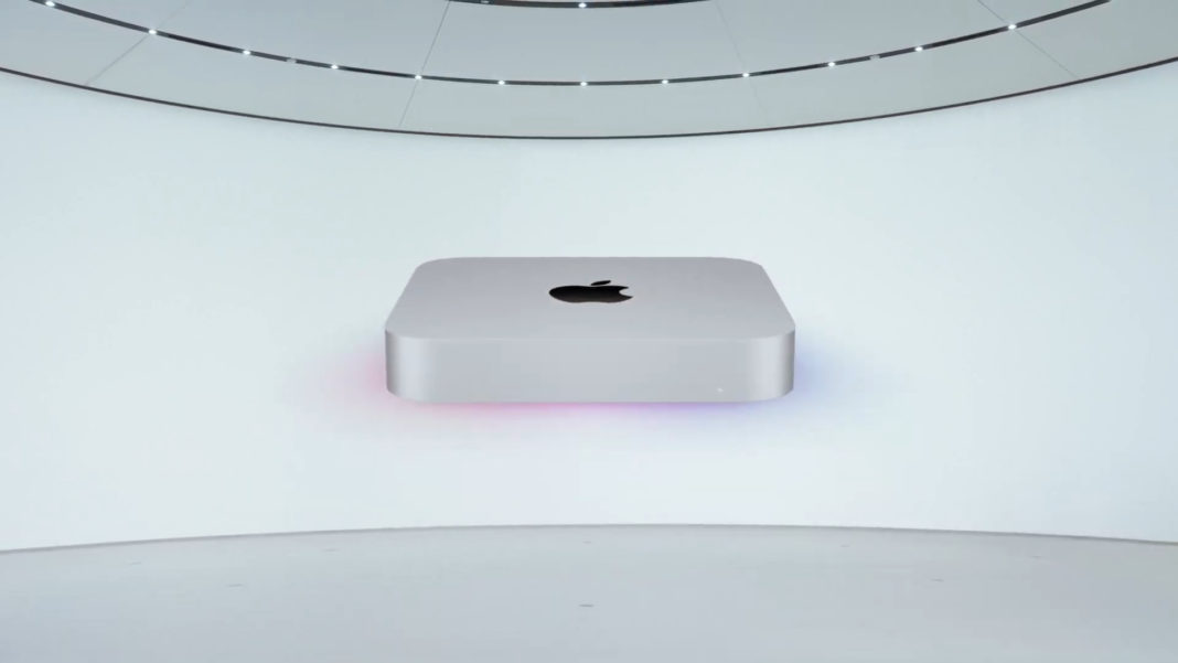 apple m1 mac mini 10 gigabit ethernet