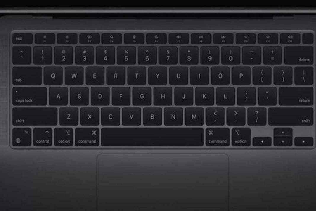 apple macbook air klavye
