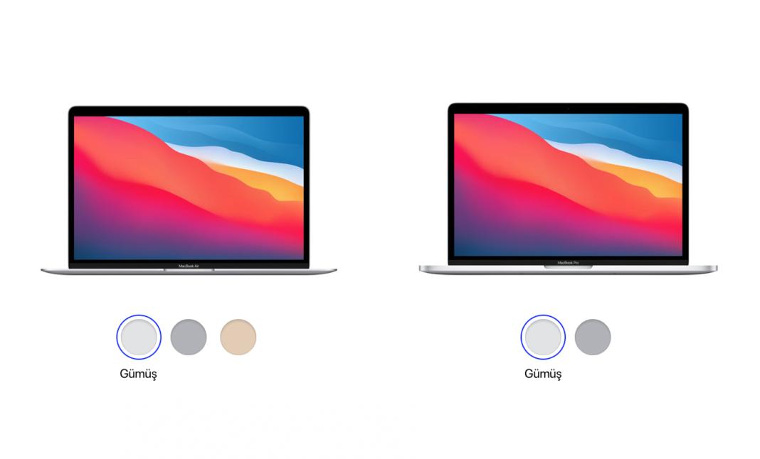 macbook air ve macbook pro