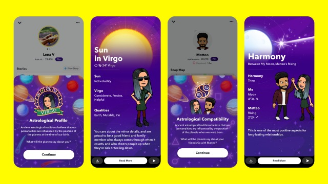 snapchat astrolojik profil