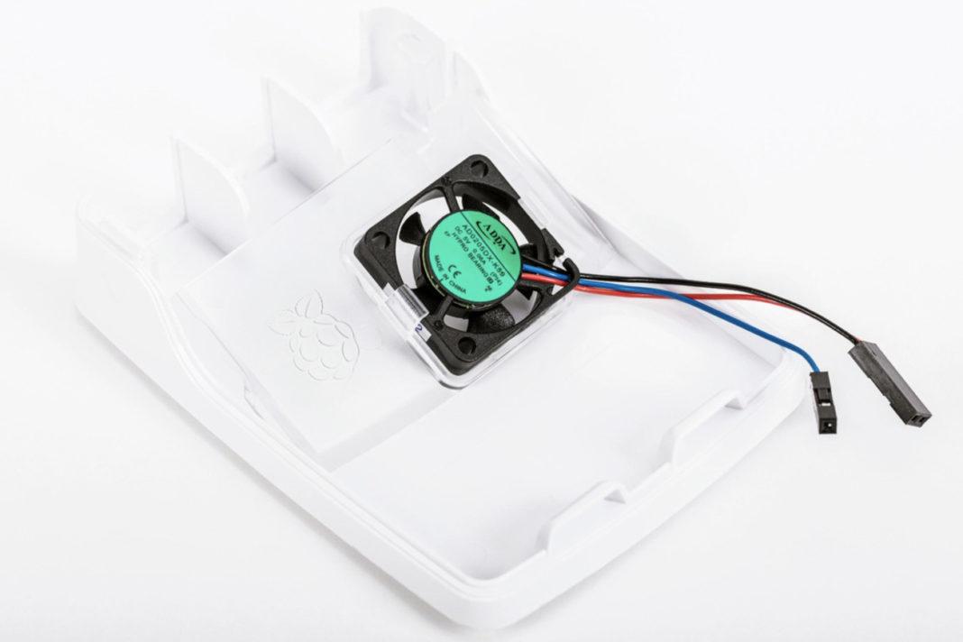 raspberry pi 4 fan case