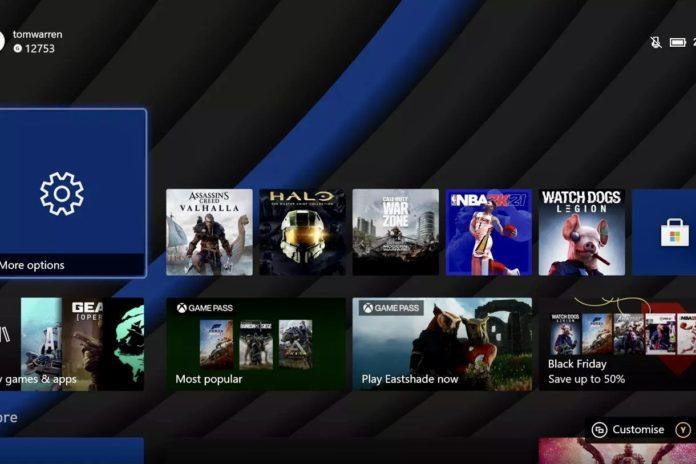 Xbox Series X Kasım güncellemesi