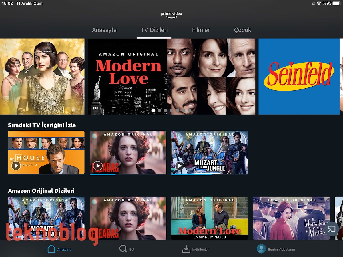 amazon prime video inceleme