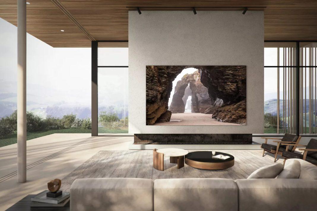 samsung 110 inç microled 4k tv