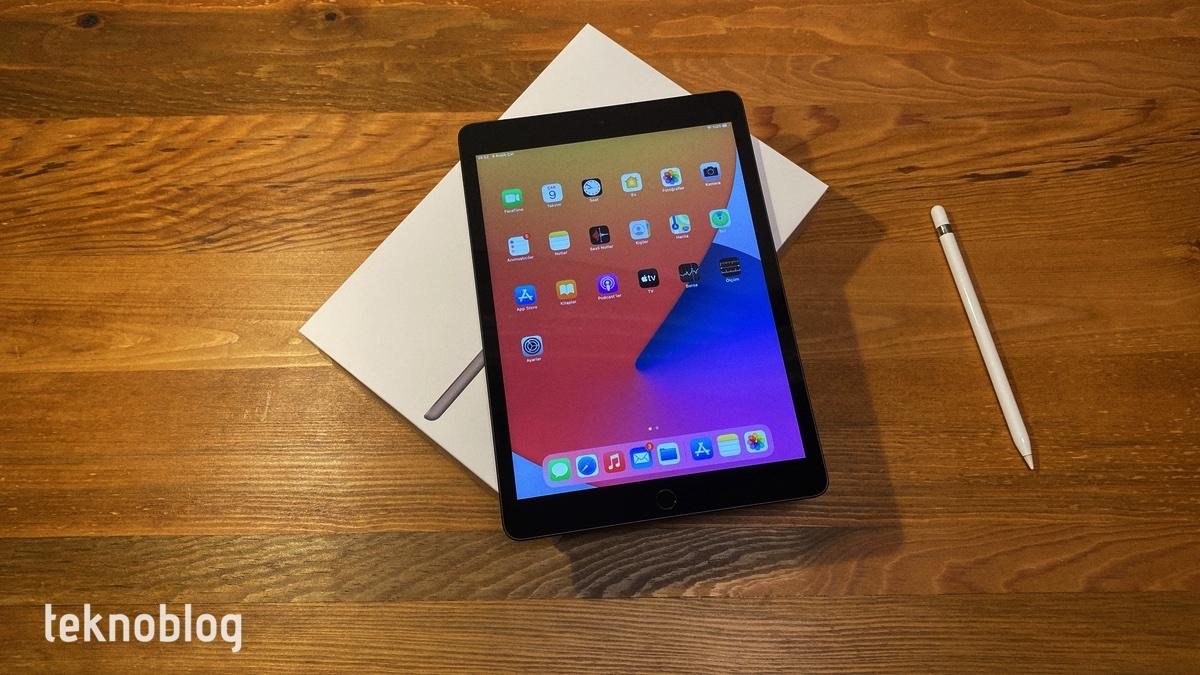 8. nesil iPad kutu açılımı