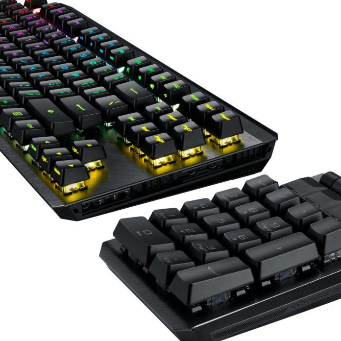 Asus ROG Claymore II mekanik klavye
