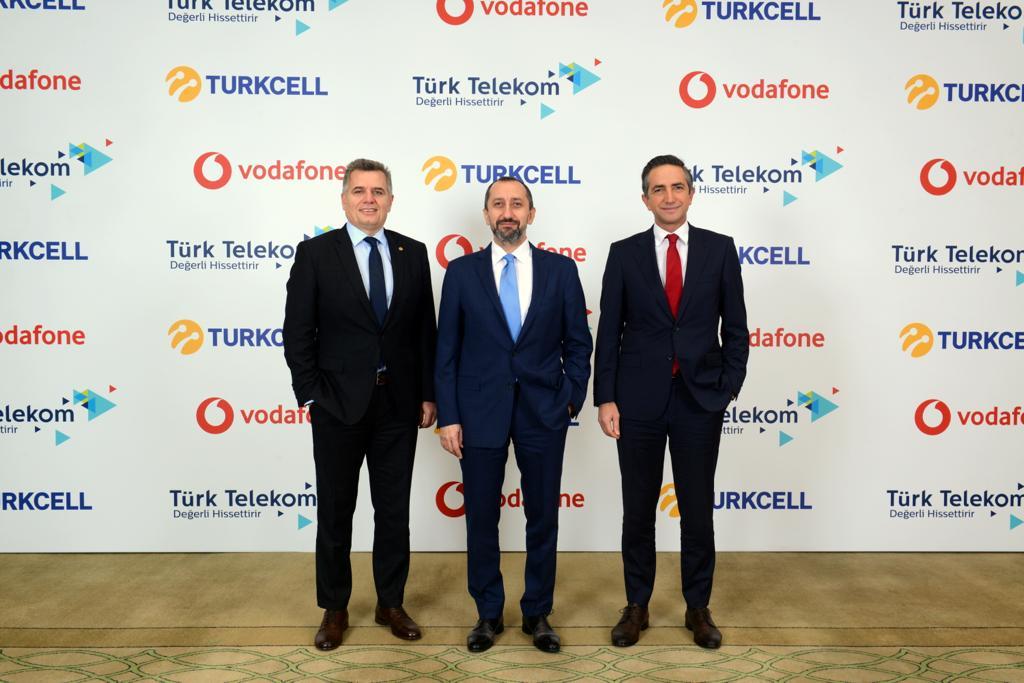 turkcell türk telekom vodafone bip yaay iş birliği