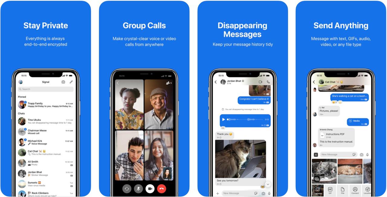 whatsapp alternatif programlar