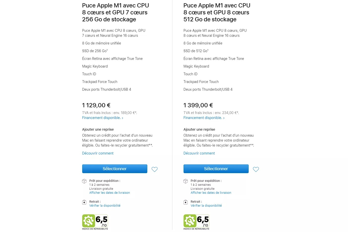 apple macbook fransa
