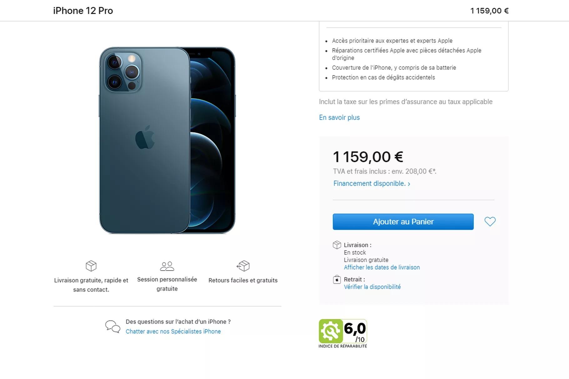 apple iphone fransa