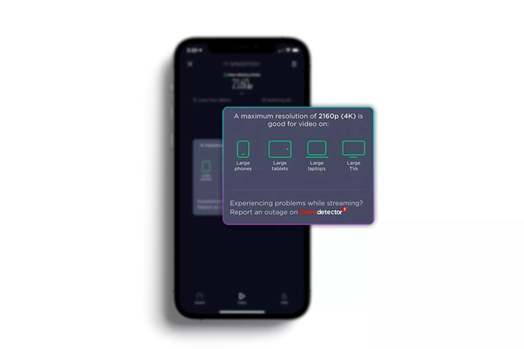 speedtest ios uygulama