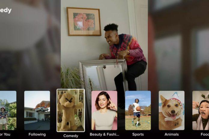 tiktok android tv uygulama