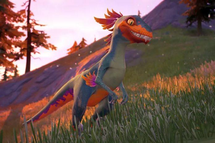 fortnite dinozor