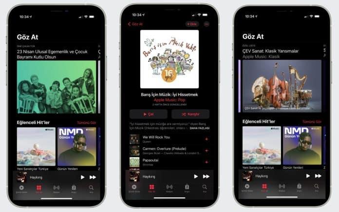 apple music app store 23 nisan