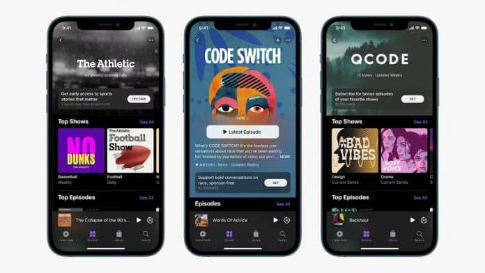 apple podcast'ler