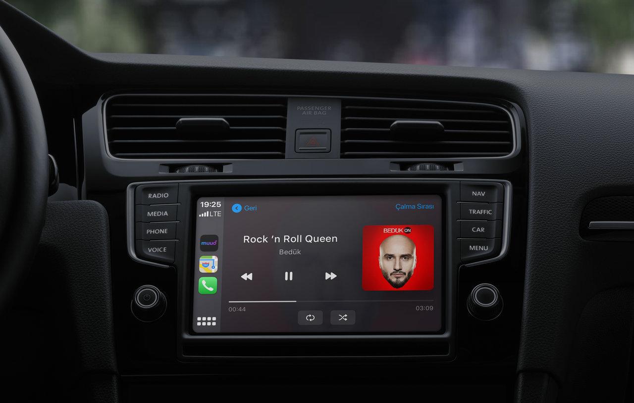 türk telekom muud carplay android auto