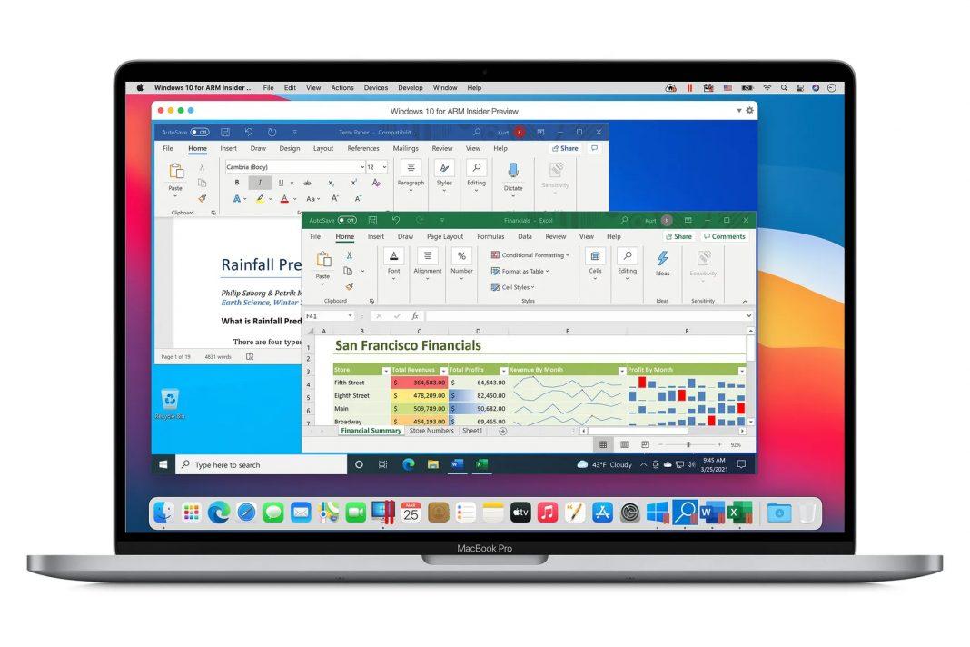 windows 10 apple m1