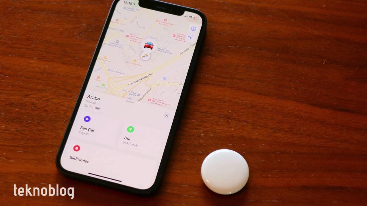 apple airtag kutu açılımı ön inceleme